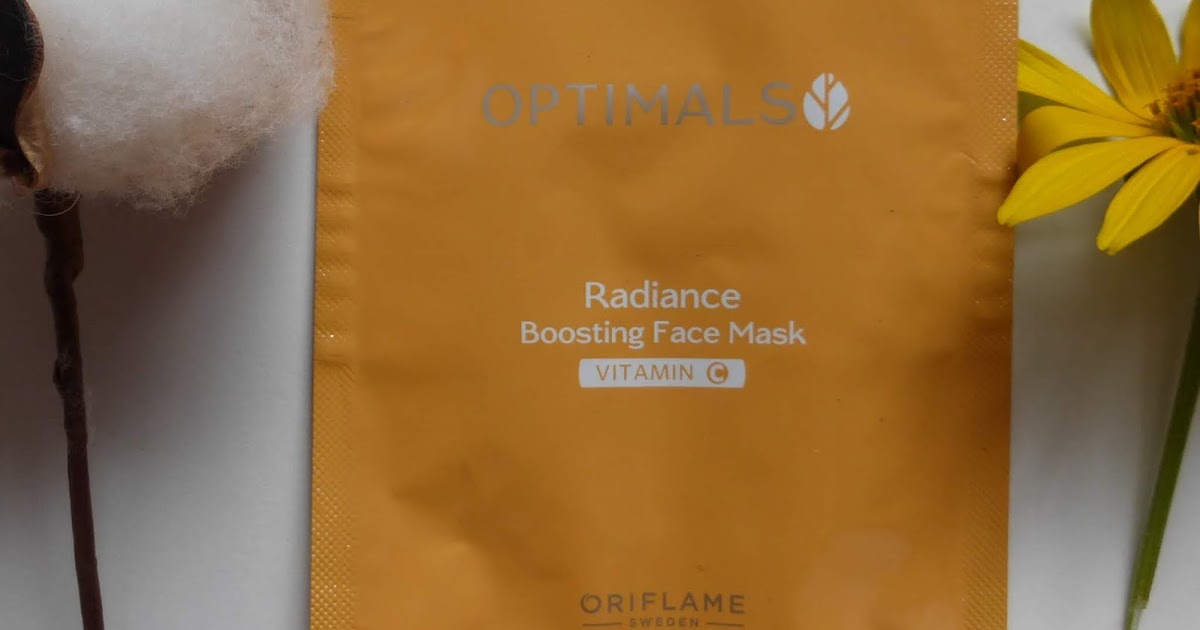 Oriflame Radiance Boosting Face Mask Vitamin C Тонизирующая ...