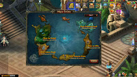 Dragon Knight - Mapa świata MMO