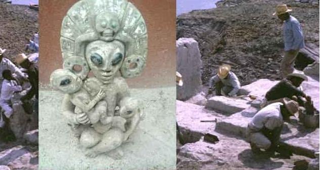 Ειδικά ΑΥΤΟ το Αντικείμενο που Ανασκάφηκε στο Μεξικό έχει ΤΡΕΛΑΝΕΙ ΚΟΣΜΟ για το τι Απεικονίζει (video)