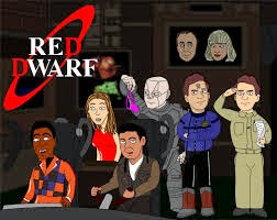 Red Dwarf crew white hole