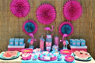 Ideias Para Festa Infantil Com Tema Flamingo