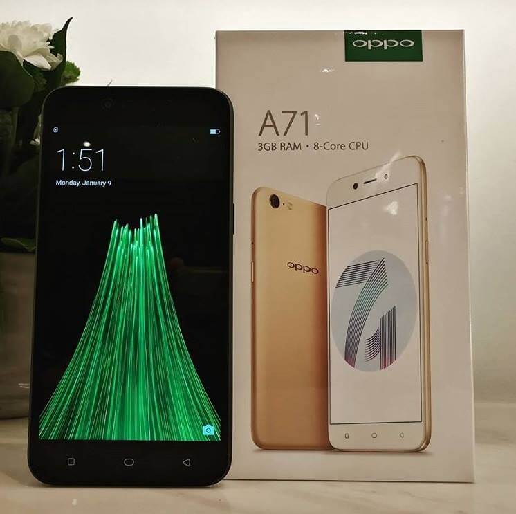 OPPO A71 Now Available in the Philippines for Php8,990