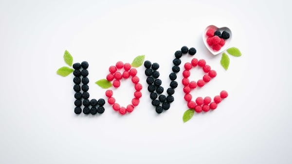 Healthy Love. Creative Love Message