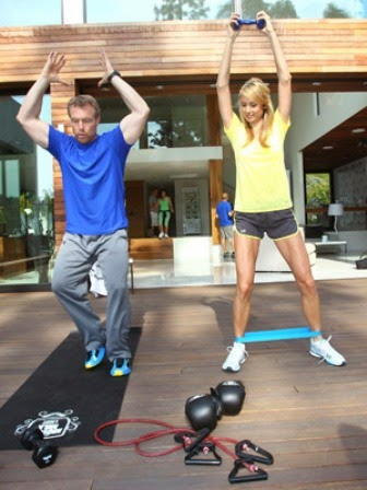 stacy keibler fitness workout and diet  muscle world