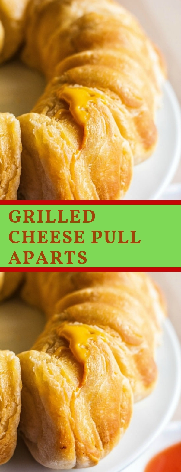 GRILLED CHEESE PULL APARTS #CHEESE #CAKE