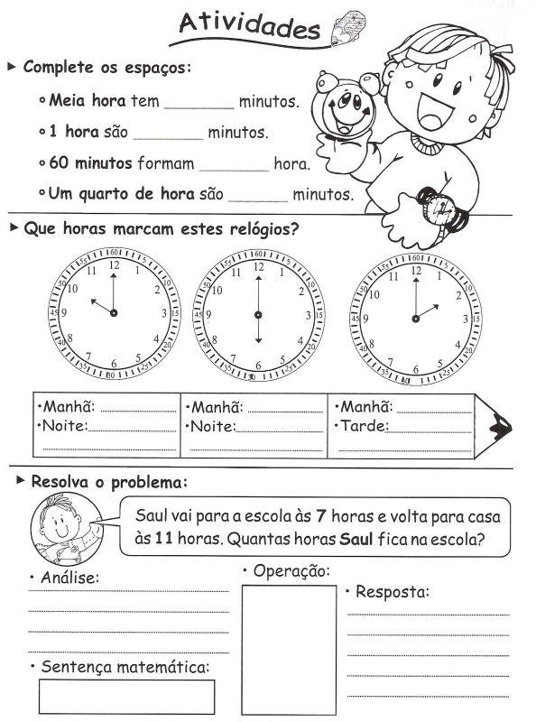 Atividades Matematica 3 Ano Fundamental Exercicios Imprimir Vi