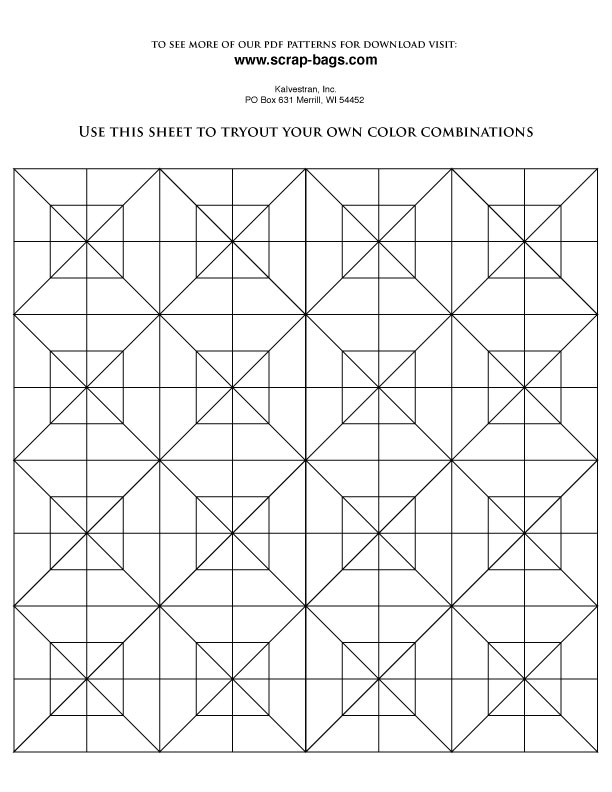 coloring pages for quilts - photo#42