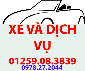 xe và dịch vụ