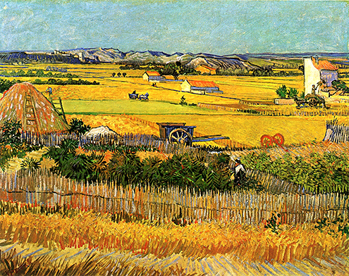 vincent-van-gogh-paintings-starry-night-museum-artwork-phrases-quotes-canvas-The-plain-of-La-Crau-near-Arles-1888