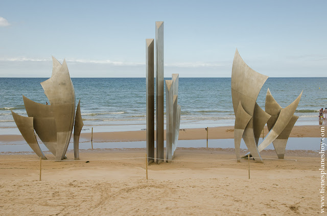 Visita playas desembarco Normandia Omaha Beach roadtrip
