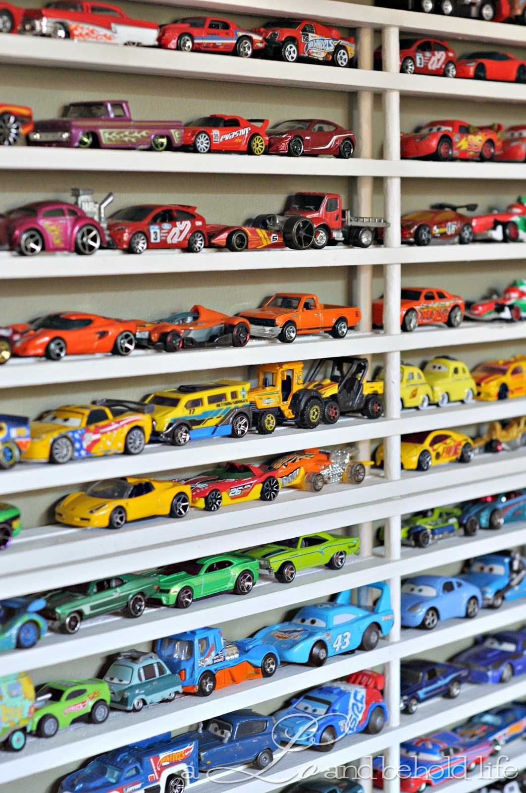 Diy Matchbox Car Garage Updated A Lo And Behold Life