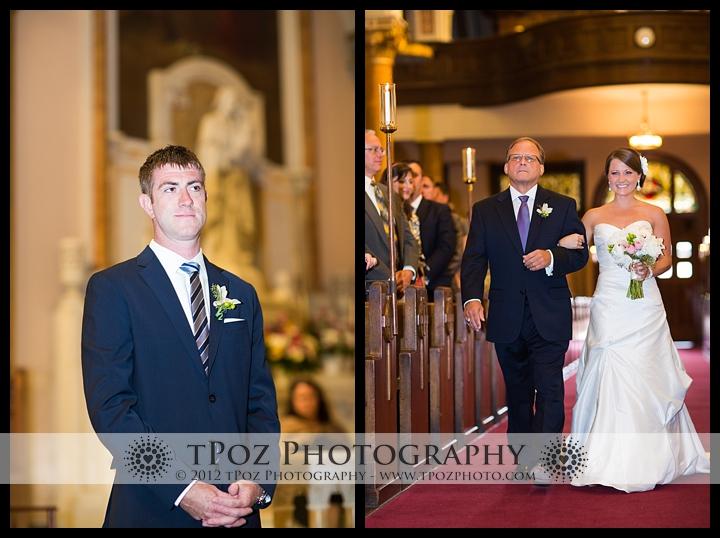 Sacred Heart of Jesus Wedding Ceremony