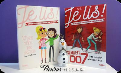 Livres : 1,2,3 Je lis avec Fleurus Editions