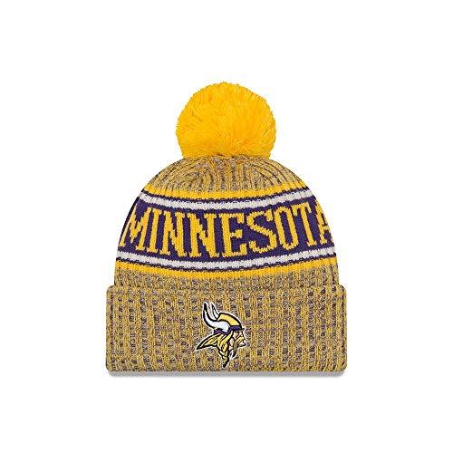 the best attitude 13fd4 517e1 New Era 2018 NFL Minnesota Viking Reverse Sport Stocking Knit Hat Winter  Beanie 2019