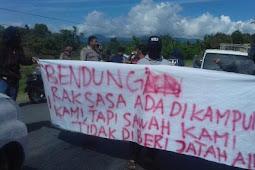 Warga Mappedeceng protes Pembangunan irigasi ini Alasannya !!!
