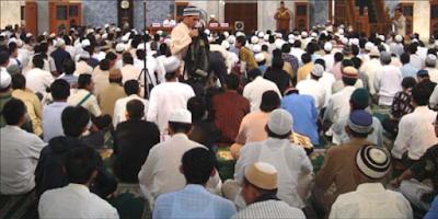 menghadiri kajian islam