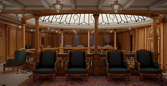 Titanic - Domo da escadaria principal