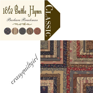 Moda 1862 BATTLE HYMN Fabric by Barbara Brackman