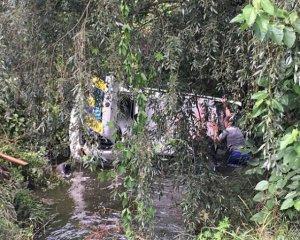 Авто зі столичними копами впало у річку