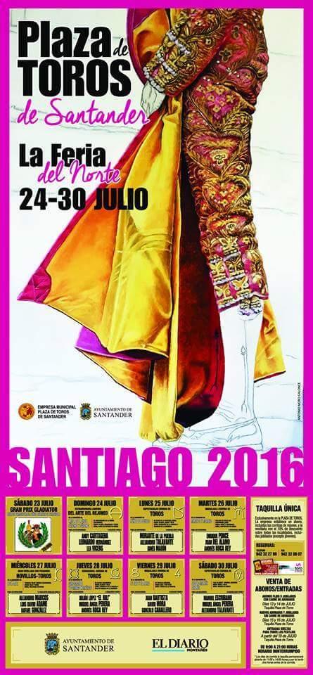 Feria taurina de Santiago 2016