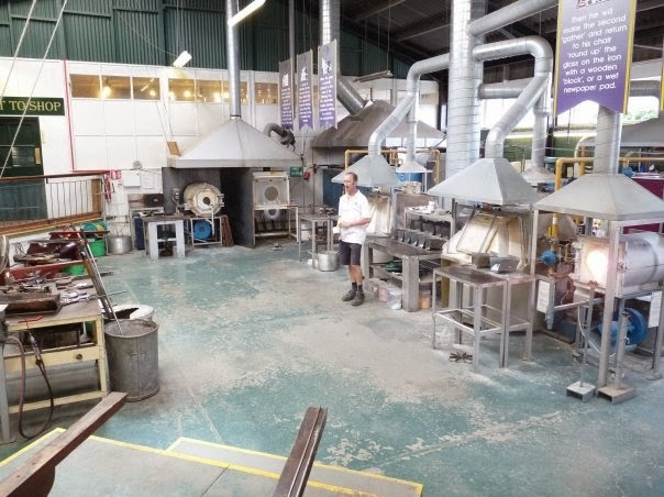 Alum Bay's Glassworks on the Isle of Wight