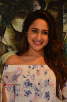 Actress Pragya Jaiswal Latest Pos in White Denim Jeans at Nakshatram Movie Teaser Launch  0074.JPG