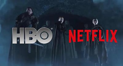 HBO y Netflix en una pelea viral por el estreno de 8va temporada de GOT