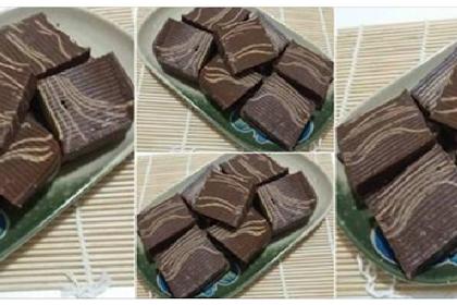 Yang Coklat Lover's, Yuk Merapat, No Oven, No Mixer, No Telur dan No Gagal. Puding Choco Cheese by Ani Mulyani
