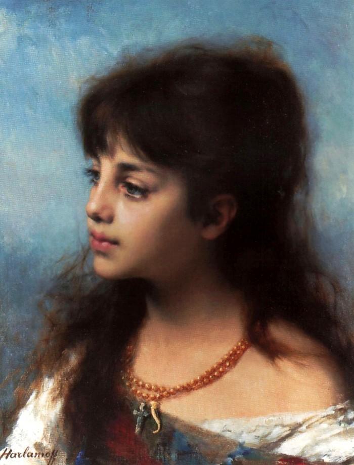 Женщины в живописи. От древности до нашего времени 44