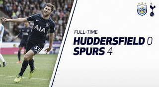 Huddersfield Town vs Tottenham Hotspur  0-4 Video Gol
