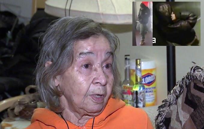 Anciana dominicana de 83 años atracada y golpeada en edificio; ladrón le roba $10 y el celular