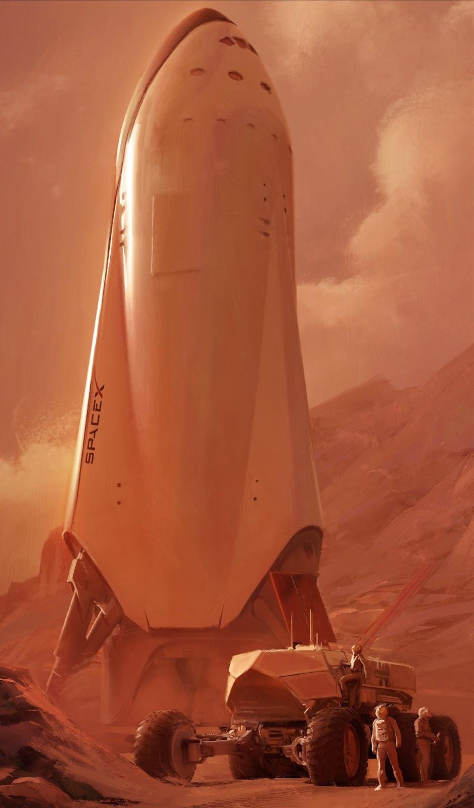 spacex mars base - photo #10