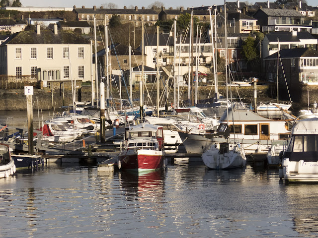 Sailboats in the Kinsale Harbour