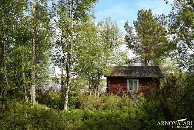 Lohikari, Pyhäjoki, vanha kalastaja mökki,Pyhäjoki municipality