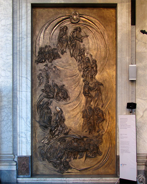 Porta del Rosario by Michelangelo Toffetti, Basilica di Santa Maria Maggiore, Rome