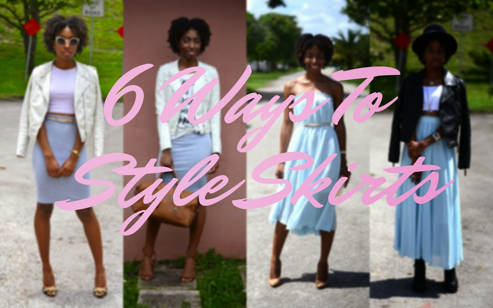 #stylefile | 6 Ways To Style Skirts (VIDEO)