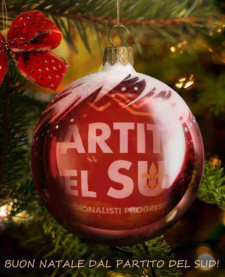 Buon Natale Particolare.Auguri Di Buon Natale E Buone Feste Partito Del Sud Blog