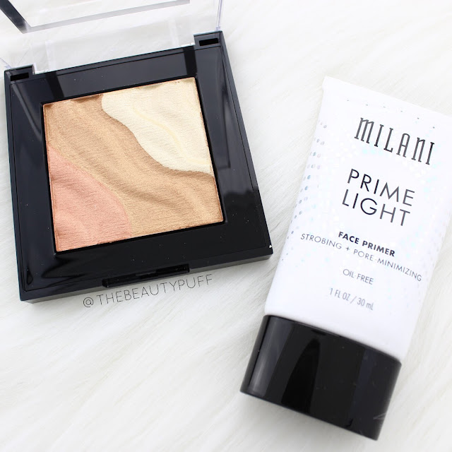 Milani Highlighting  |  The Beauty Puff