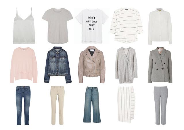 Летний базовый гардероб из 15 вещей