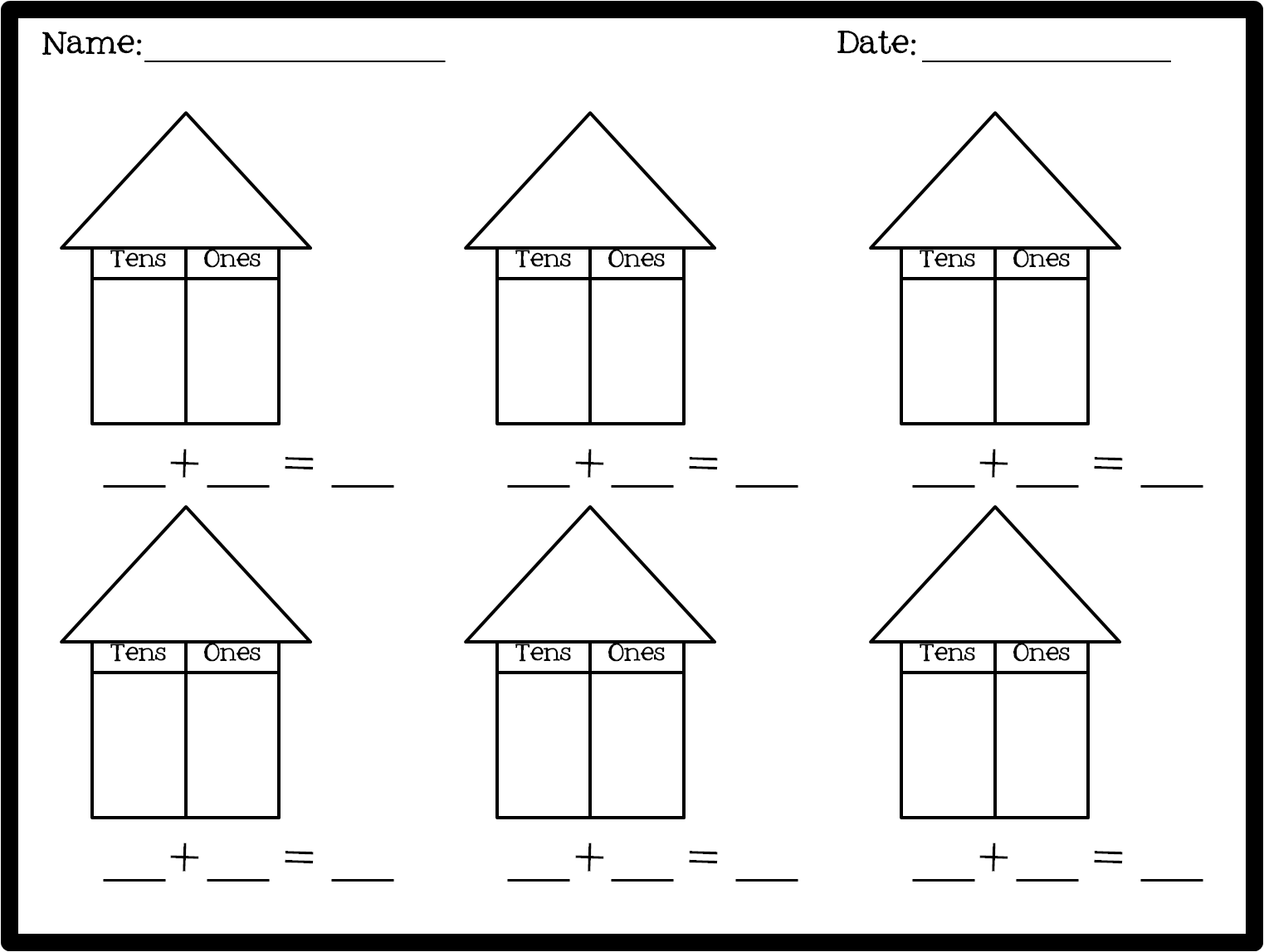 hight resolution of 1st Grade Place Value - The Brown Bag Teacher