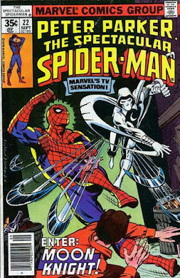 Spectacular Spider-Man #22, Moon-Knight