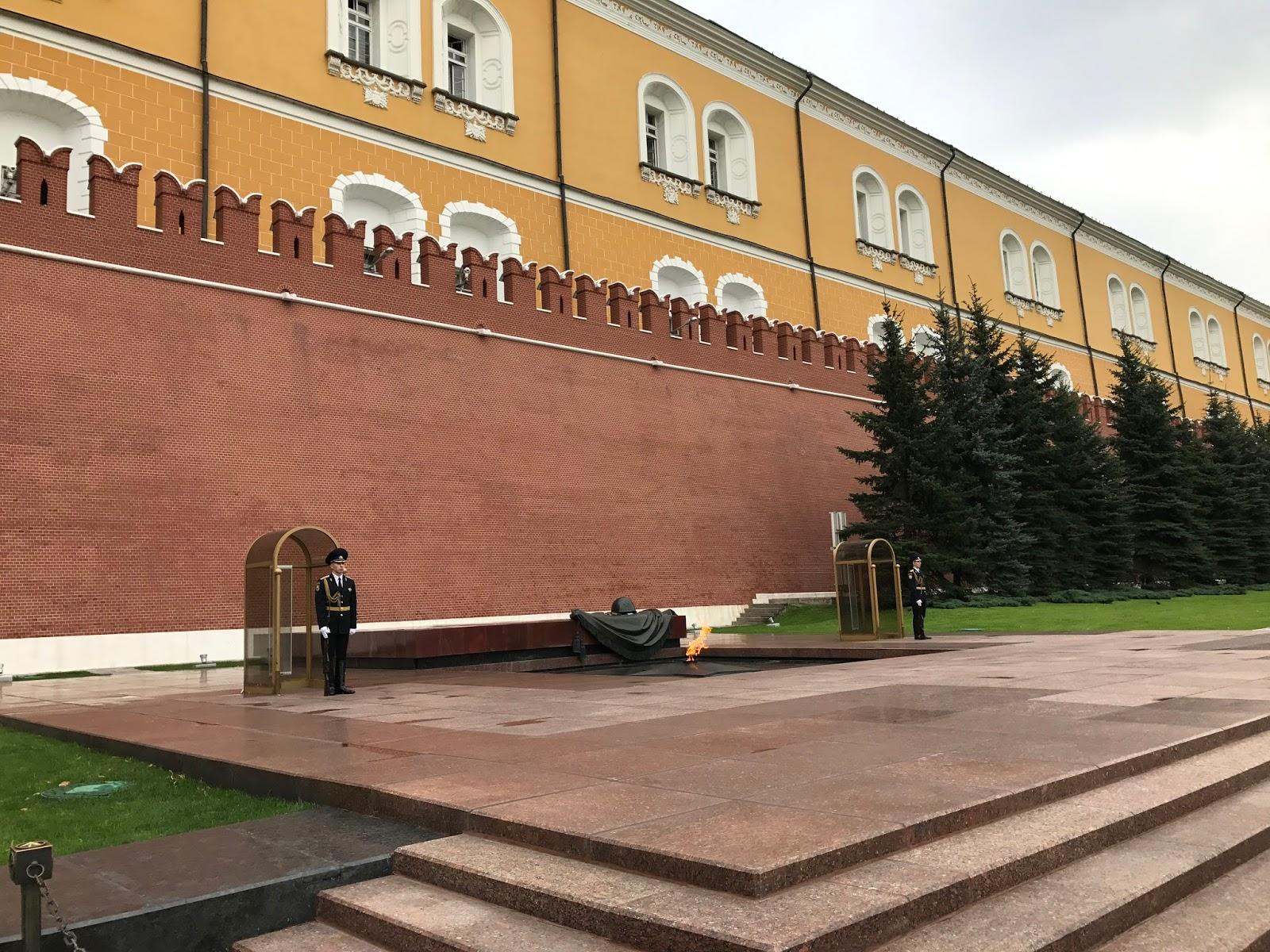 Túmulo do Soldado Desconhecido - Moscou