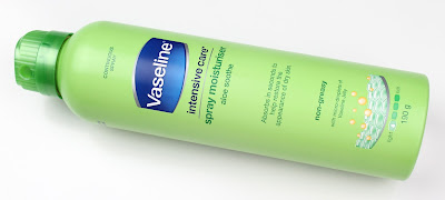 beauty travel essentials vaseline intensive care spray moisturiser aloe soothing body