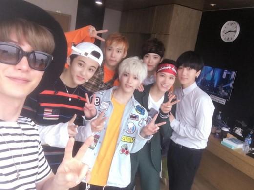 Leeteuk dan Yesung Super Junior Beri Dukungan Kepada NCT U