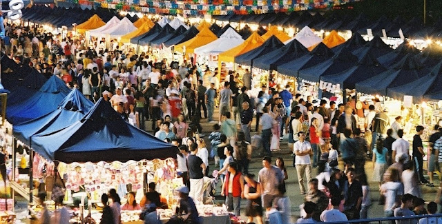 """Multicultural Market Festival"" in Vancouver"