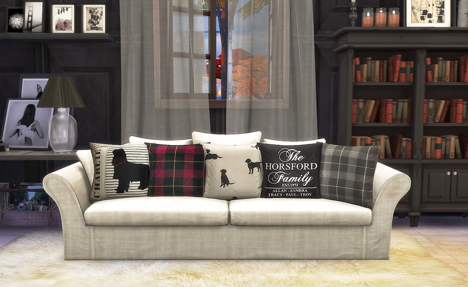 Nice Sofa Set Pic What Wall Colour Goes With Brown Leather Sims4 Sv Pillow Recolors 抱枕改色 - Ruby's Home Design