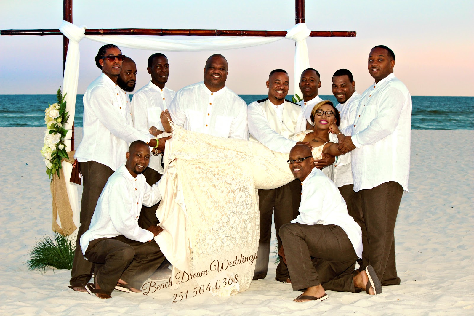 Beach Dream Wedding Of Delwin And Kayla In Orange Alabama September