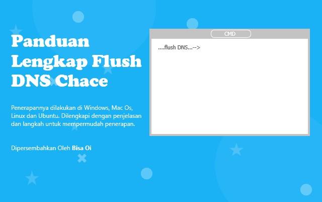Panduan Lengkap Flush DNS Chace pada Windows, Mac OS, Linux dan Ubuntu