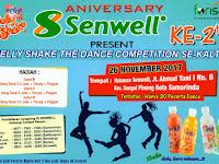 Ikuti informasi terupdate kemeriahan Jelly shake dance competition sekaltim 26 November 2017