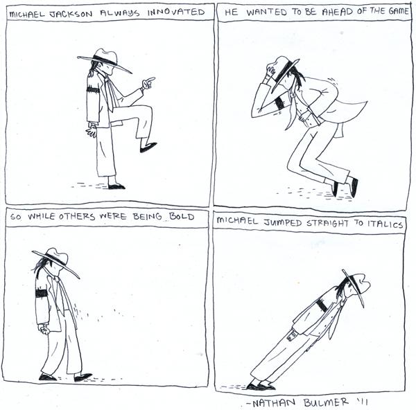 michael jackson comic